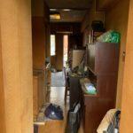 大田区の遺品整理(生前整理)のキッチン、作業前