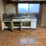 ダイニングキッチンの遺品整理(生前整理)残置処分、作業後
