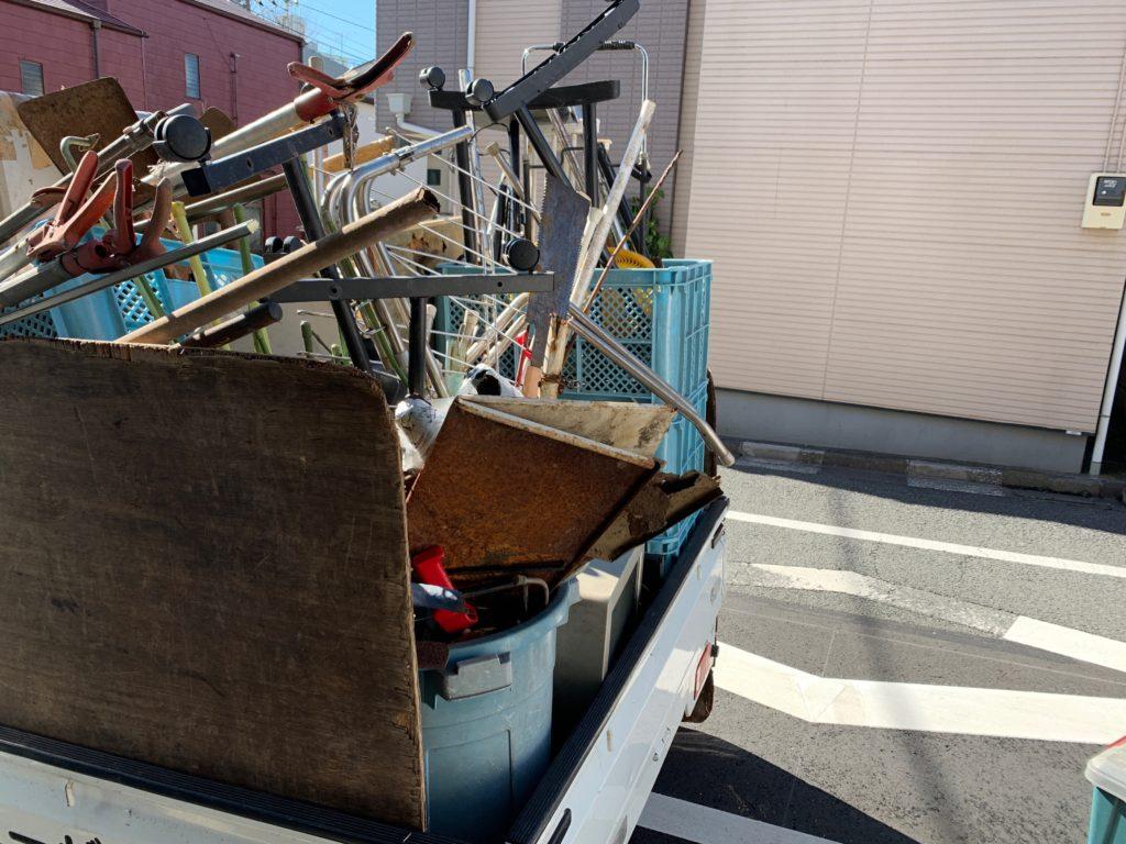 一軒家の残置物回収(生前整理)を行いました。(港区)東京都の写真2