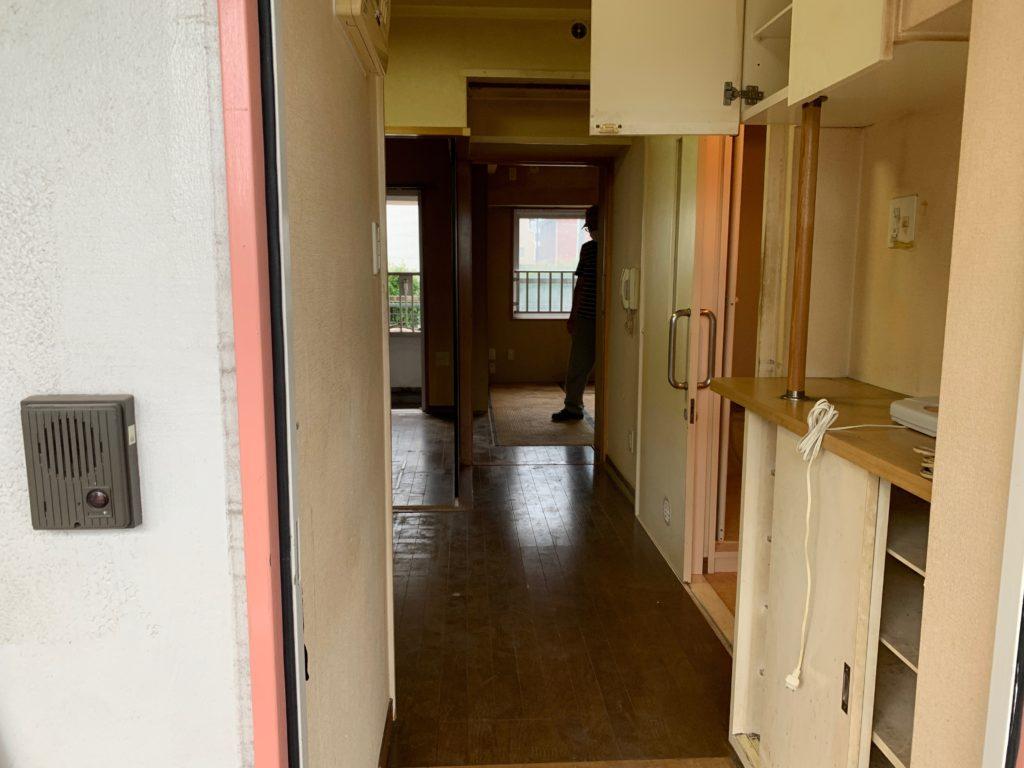 大田区マンション一室の生前整理後の写真1