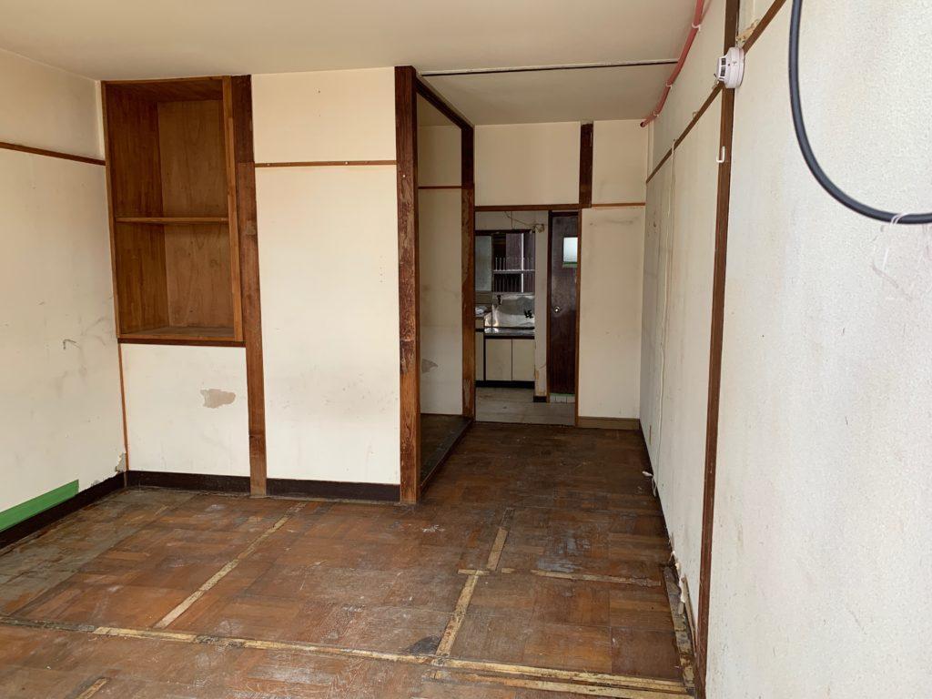 遺品整理と残置物処分の回収撤去後の写真(世田谷区)(3F洋室)