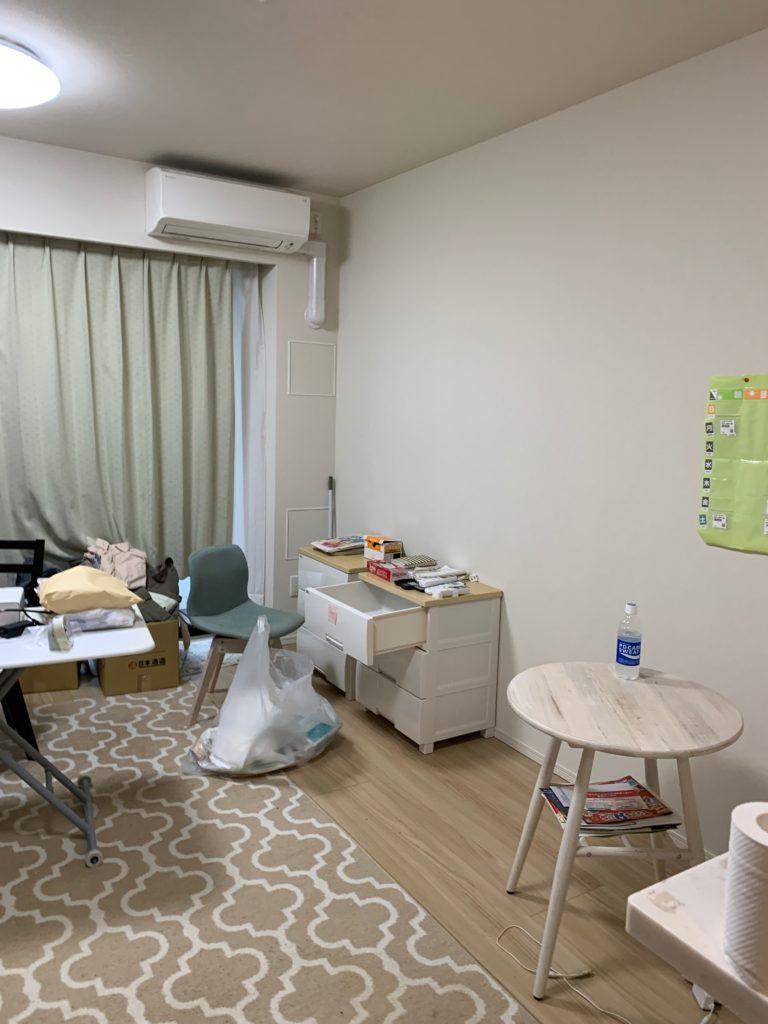 渋谷区の1Kのお部屋の遺品整理の残置物処分前の写真4