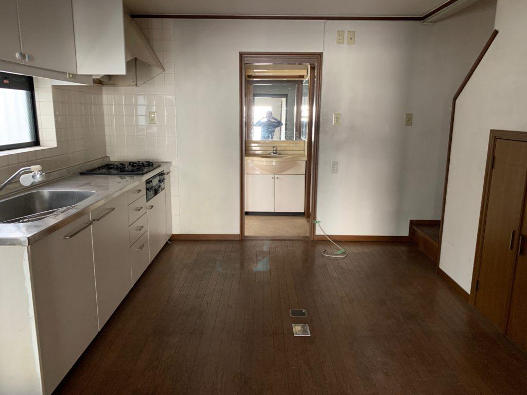 大田区三階建一軒家の生前整理(遺品整理)の写真3