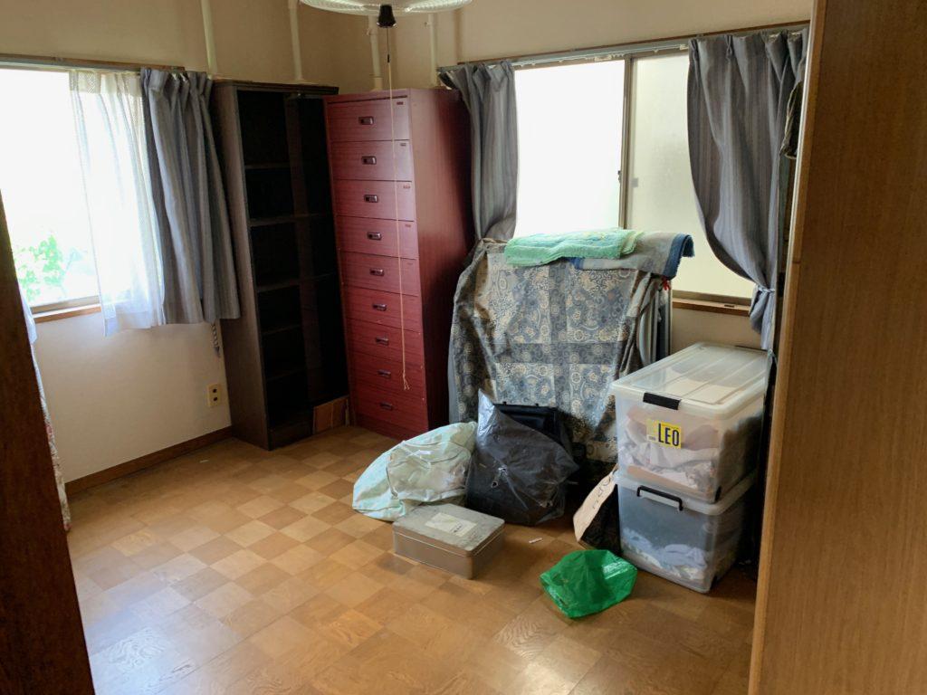 遺品整理前の写真(2階部屋3)品川区
