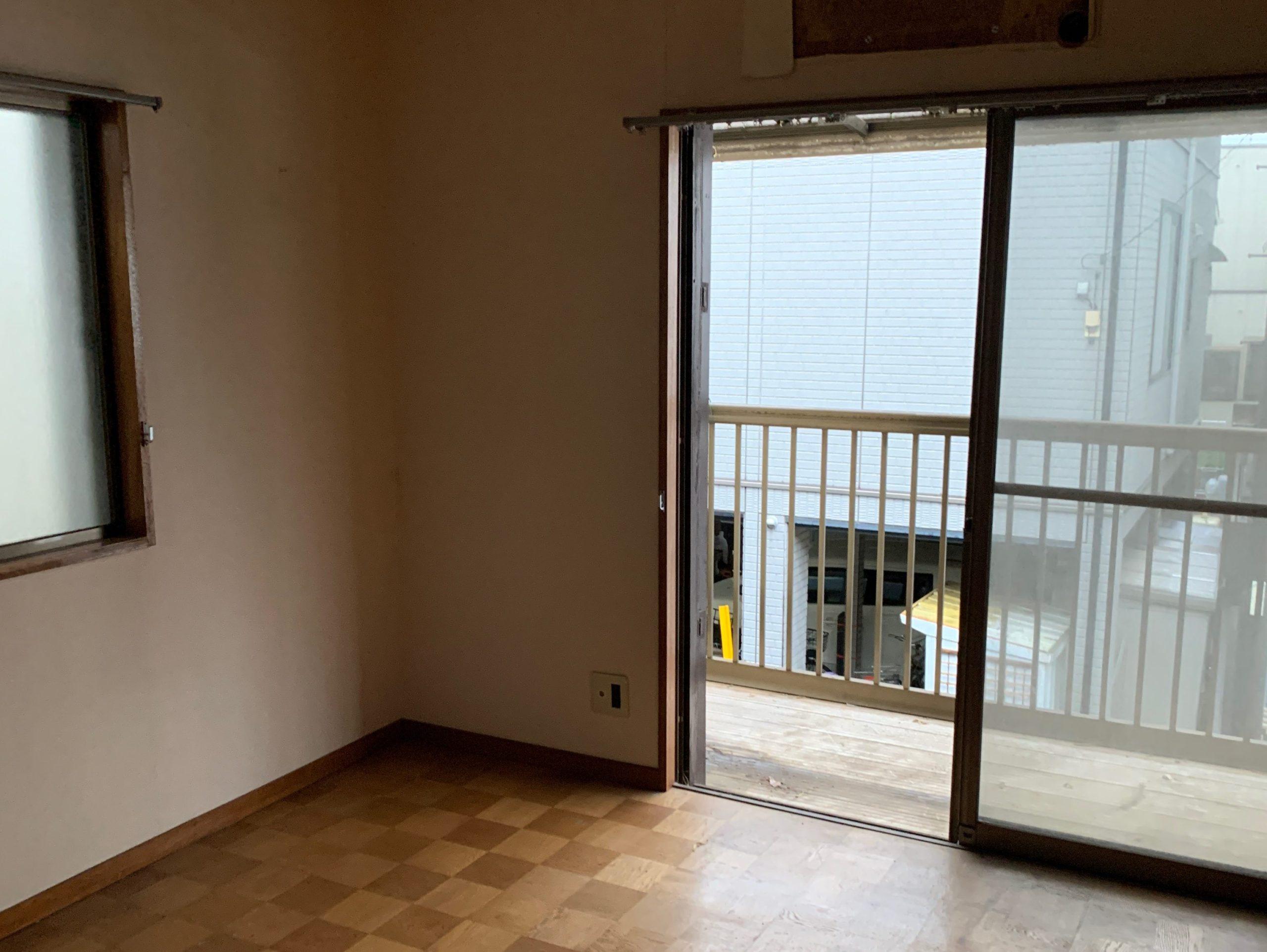 遺品整理後の写真(2階部屋1)品川区