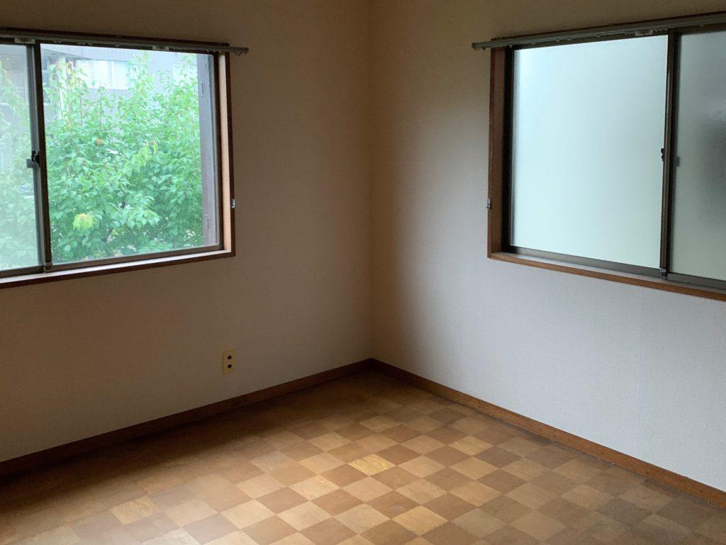 遺品整理後の写真(2階部屋3)品川区