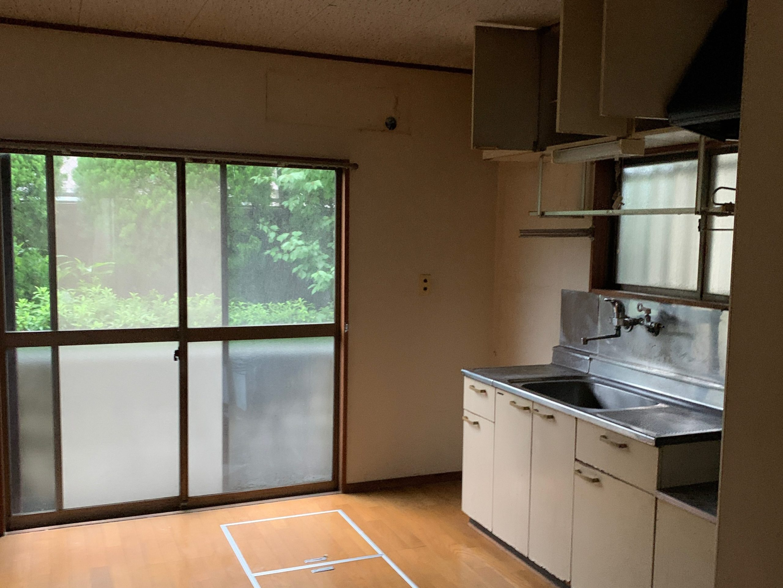 遺品整理後の写真(一階キッチン)品川区