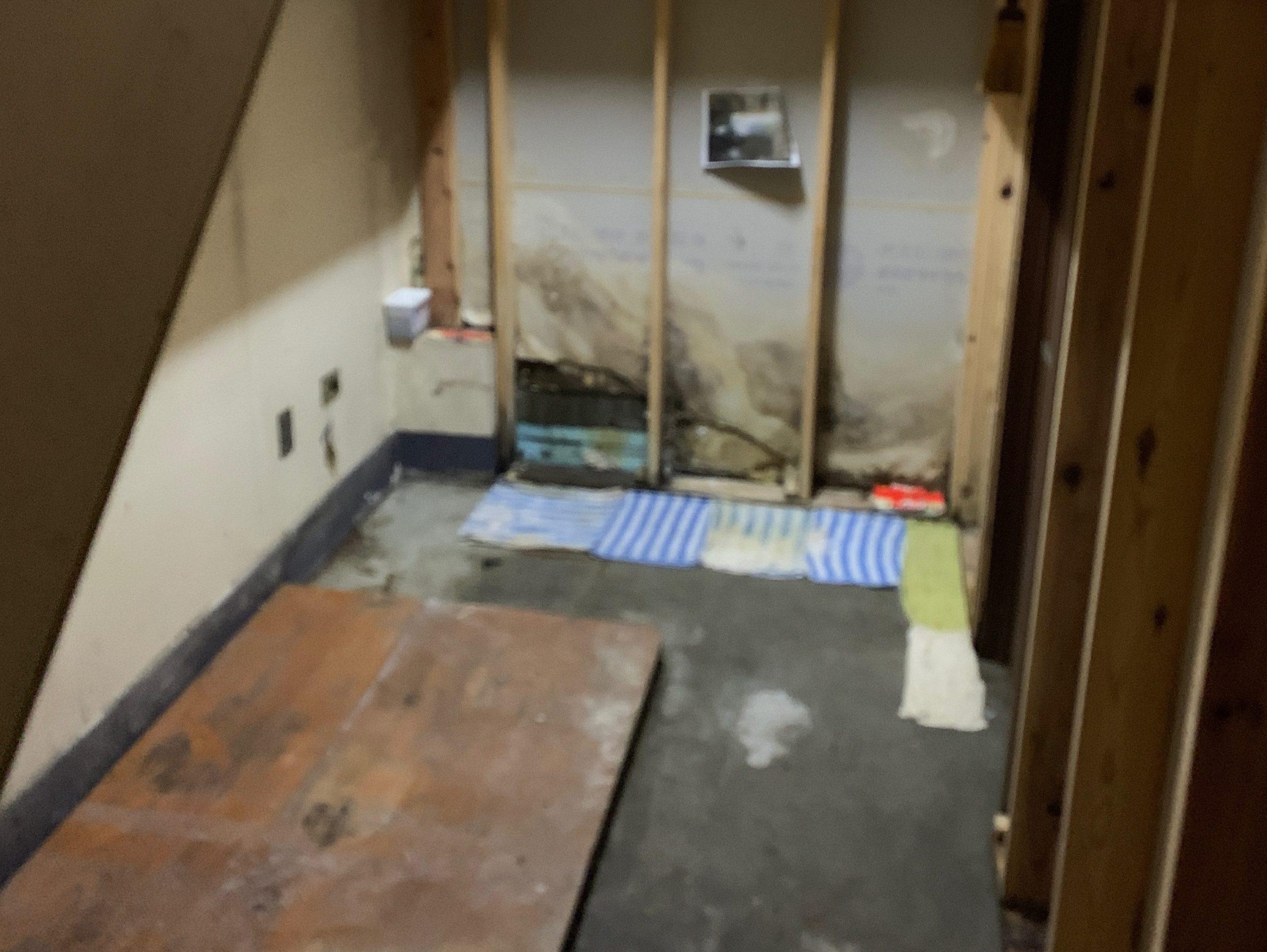 一軒家の生前整理後の写真(一階倉庫)品川区
