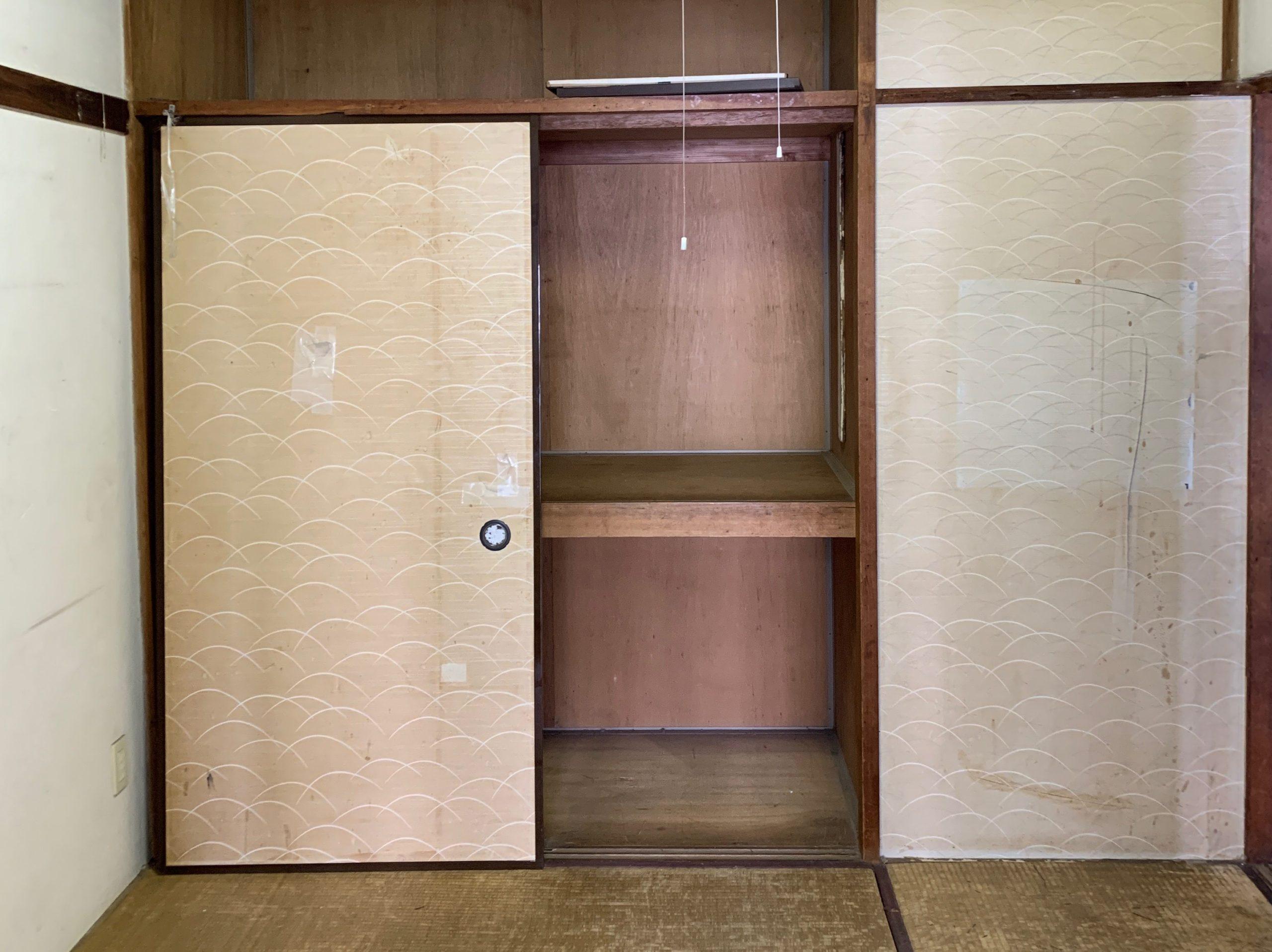 都営住宅の生前整理(遺品整理)後の写真(部屋1)目黒区