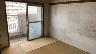 都営住宅の生前整理(遺品整理)後の写真(部屋2)目黒区