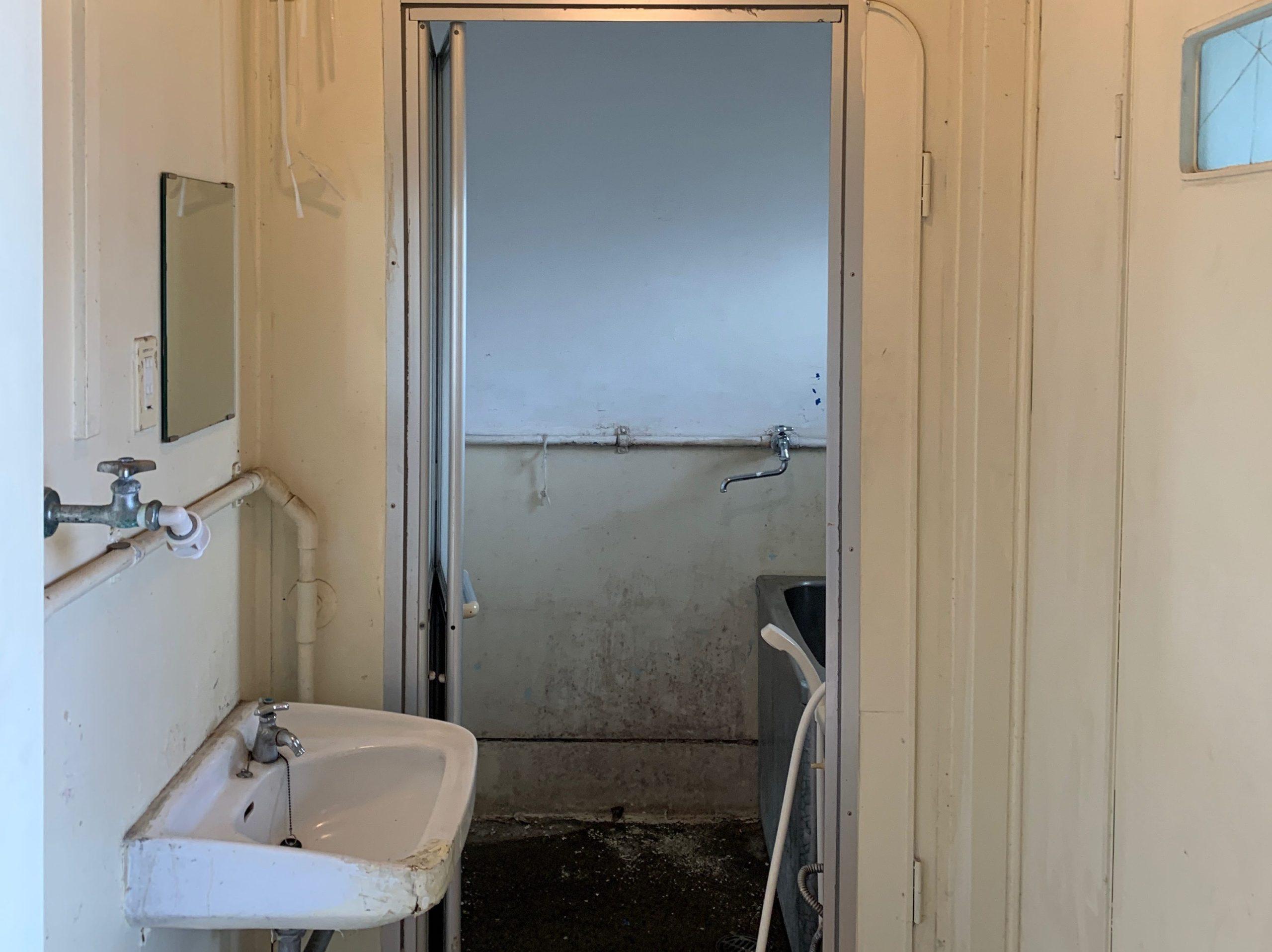 都営住宅の生前整理(遺品整理)後の写真(お風呂場)目黒区