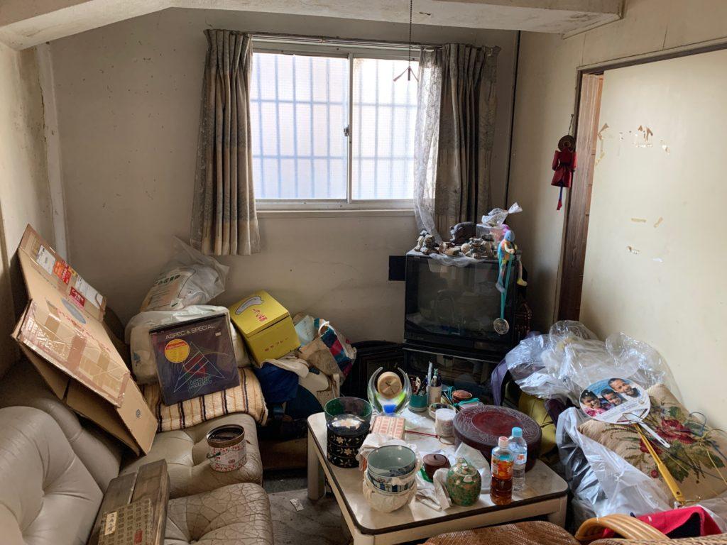 マンション一室の遺品整理前の写真2(渋谷区)