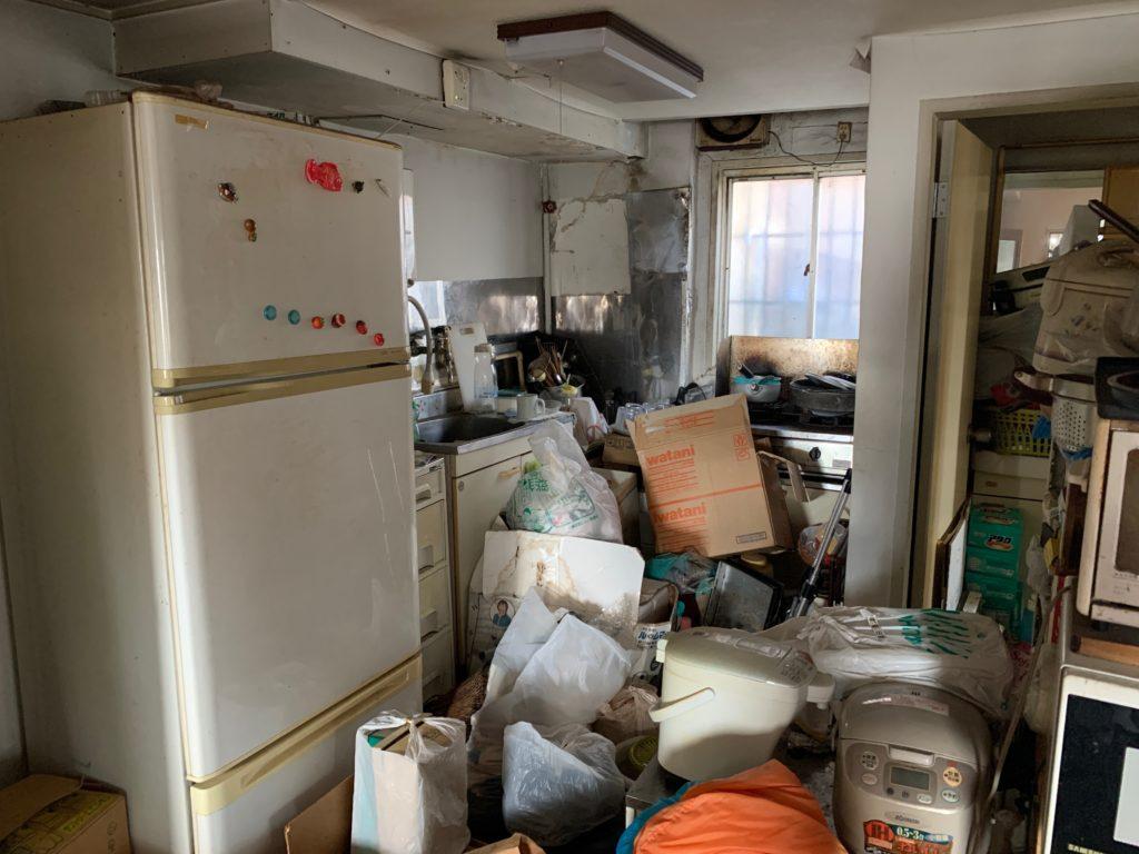 マンション一室の遺品整理前の写真5(渋谷区)