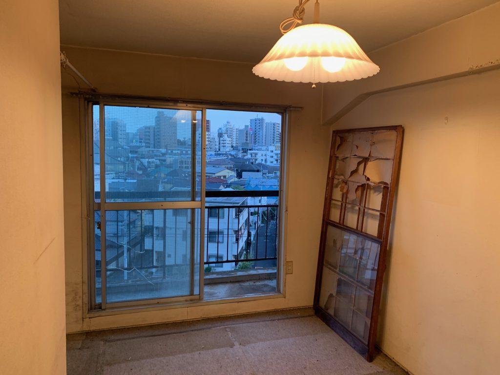 マンション一室の遺品整理後の写真3(渋谷区)