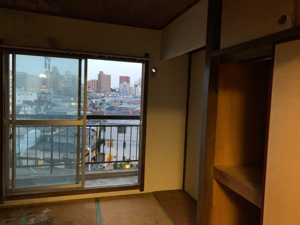 マンション一室の遺品整理後の写真2(渋谷区)