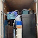 世田谷区の生前整理(遺品整理)後トラックに積んだ写真